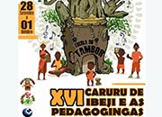 XVI Caruru de Ibeji e as Pedagogingas: Escola do Tambor